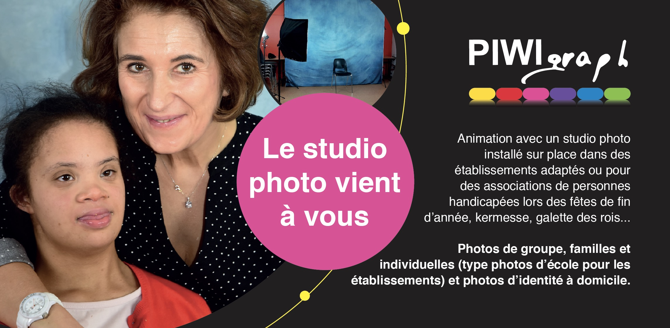 studio photo - personnes handicapées